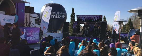 türk telekom o ses türkiye roadshow
